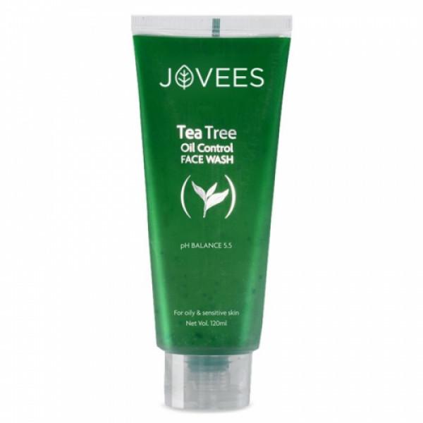 Jovees Tea Tree Face Wash, 120ml