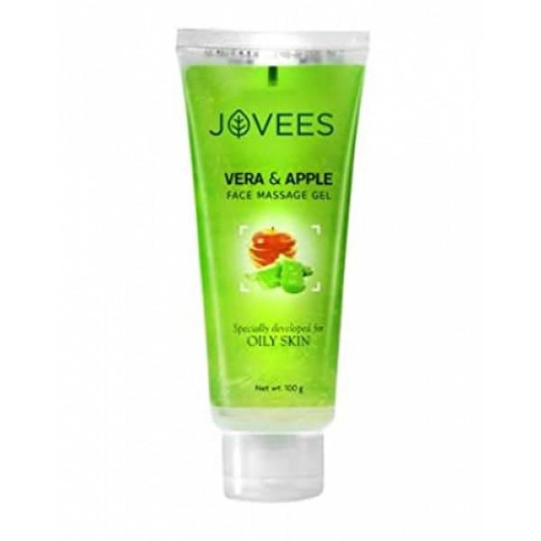 Jovees Vera & Apple Face Massage Gel, 100gm