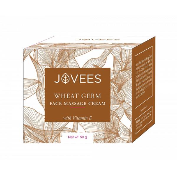 Jovees Wheat Germ Face Massage Cream, 50gm
