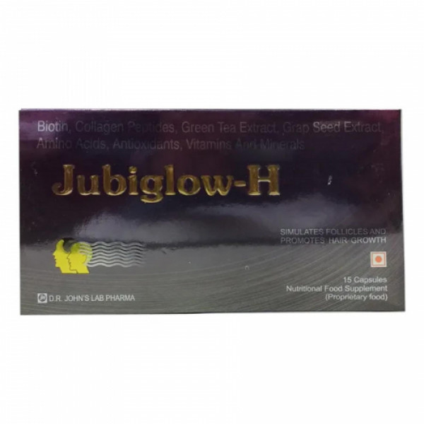 Jubiglow H, 15 Capsules