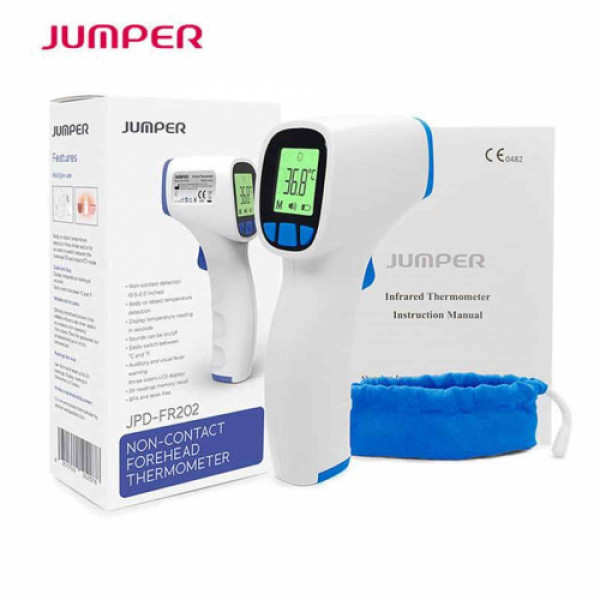 Jumper (JPD-FR202) Infrared Non-Contact Forehead Thermometer