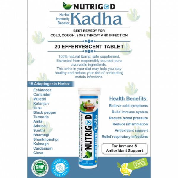 Nutrigod Kadha, 20 Tablets