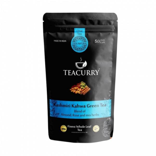 Teacurry Kashmiri Kahwa Green Tea, 100gm