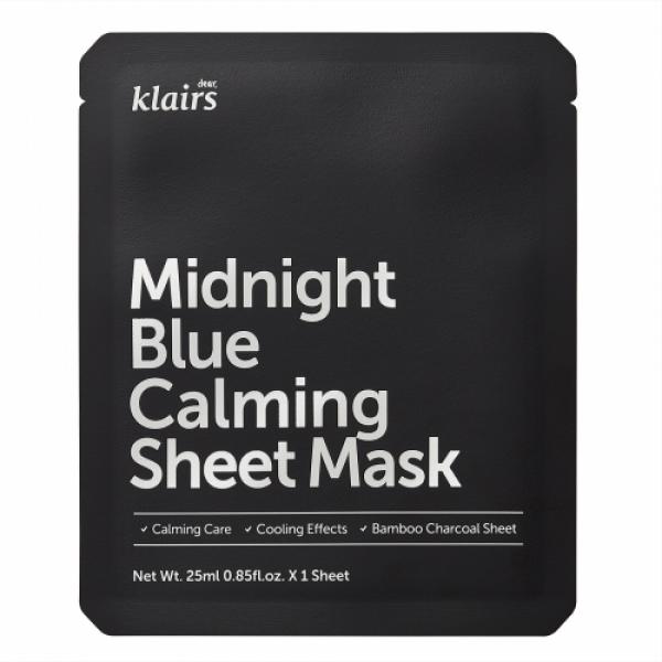 Klairs Midnight Blue Calming Sheet Mask, 25ml