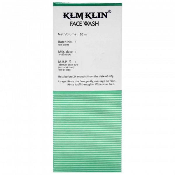 KLM Klin Face Wash, 50ml