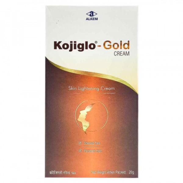Kojiglo Gold Cream, 20gm