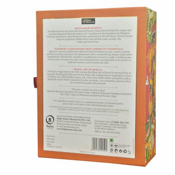 Bipha Ayurveda Kovilakom Secrets  - Ojaswini Sandalwood Skin longevity Essentials