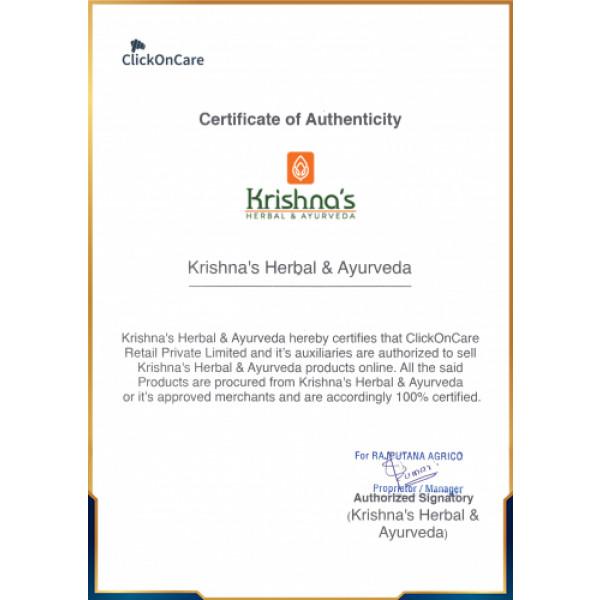 Krishna's Wheat Grass Juice, 500ml