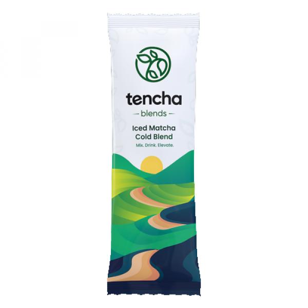 Tencha Iced Matcha Cold Blend, 15 Sachets + Tumbler