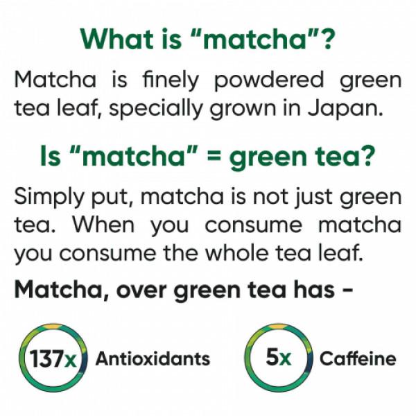 Tencha Iced Matcha Cold Blend, 5 Sachets + Tumbler