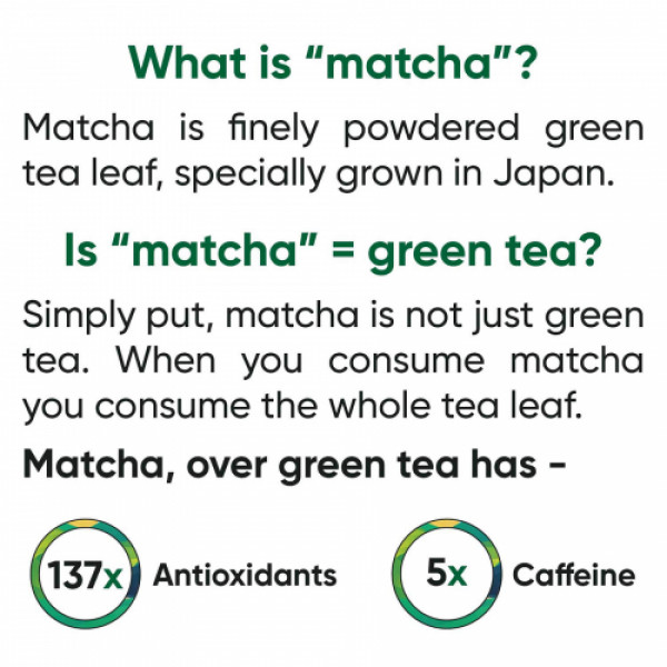 Tencha Iced Matcha Cold Blend, 10 Sachets