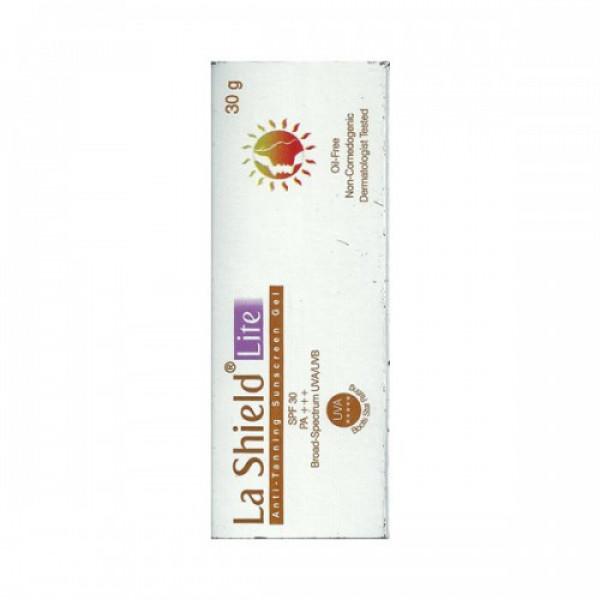 La Shield Lite - Anti-tanning Sunscreen Gel SPF 30, 30gm