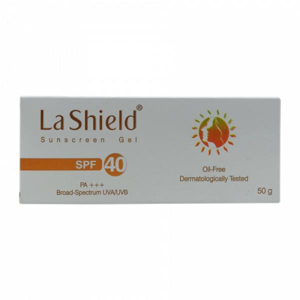 La Shield Sunscreen Gel SPF 40 PA+++, 50gm