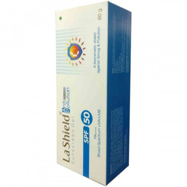 La Shield Anti Pollution Sunscreen Gel SPF 50, 60gm