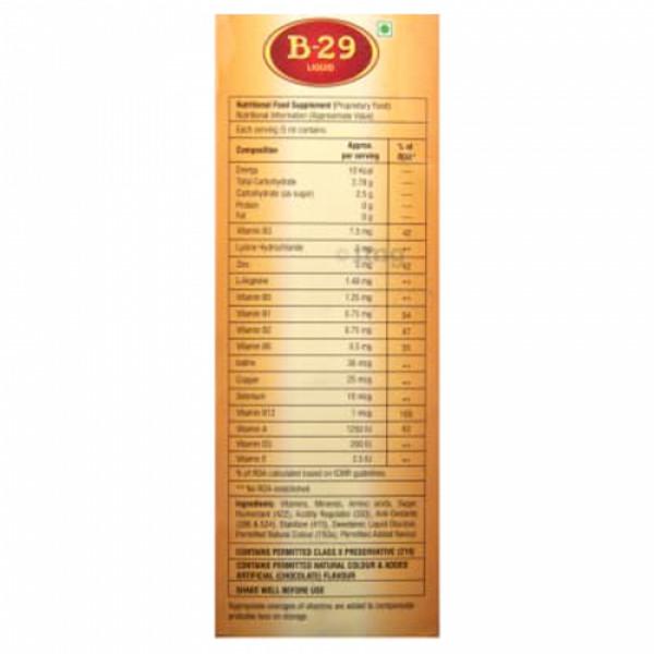 B 29 Syrup, 200ml