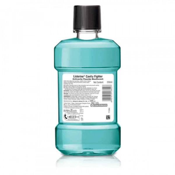 Listerine Cavity Fighter Mouthwash, 250ml