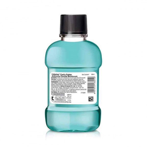 Listerine Cavity Fighter Mouthwash, 80ml