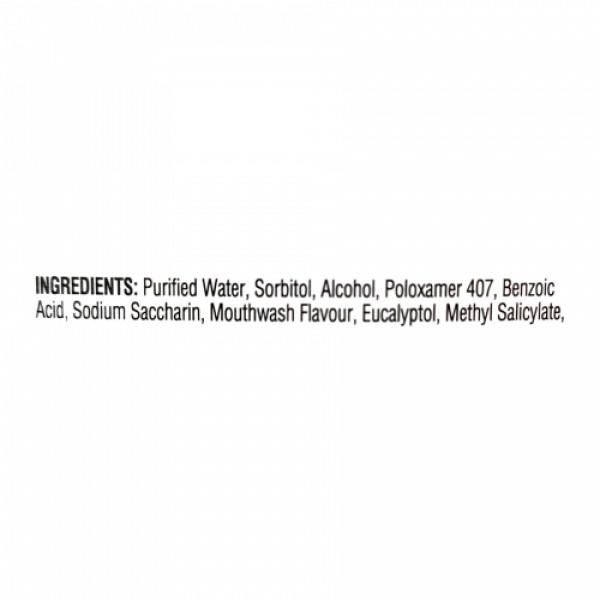 Listerine Fresh Burst Mouthwash, 250ml