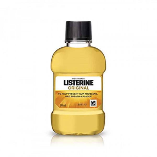Listerine Original Mouthwash, 80ml