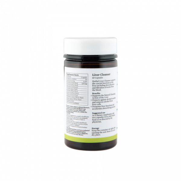 Bipha Ayurveda Liver Cleanser , 60 Capsules