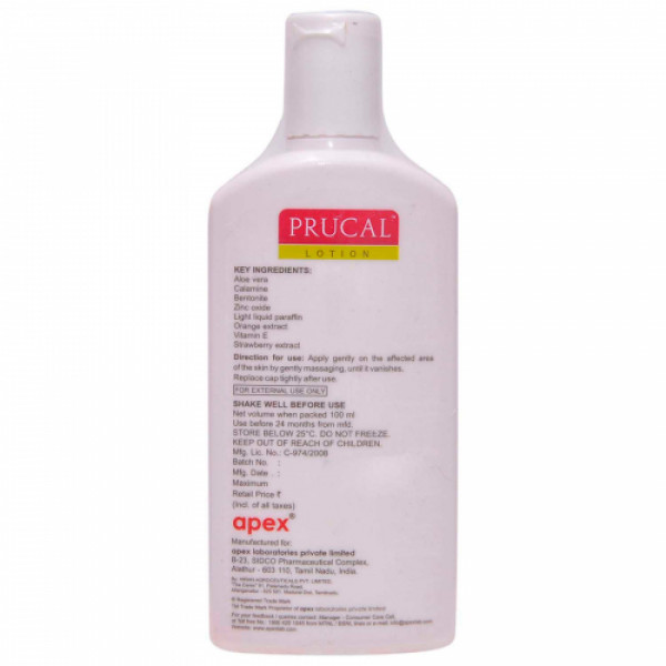 Prucal Lotion, 100ml