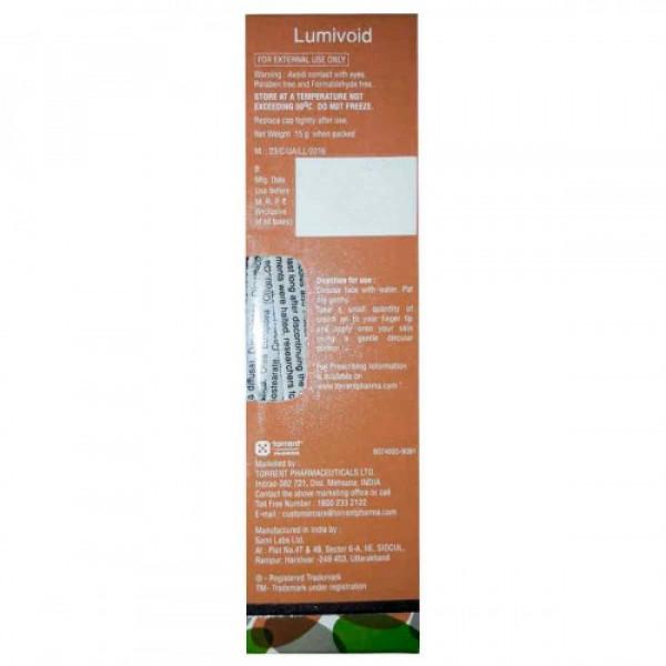 Lumivoid Depigmenting Cream, 15gm