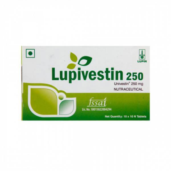 Lupivestin 250mg, 10 Tablets