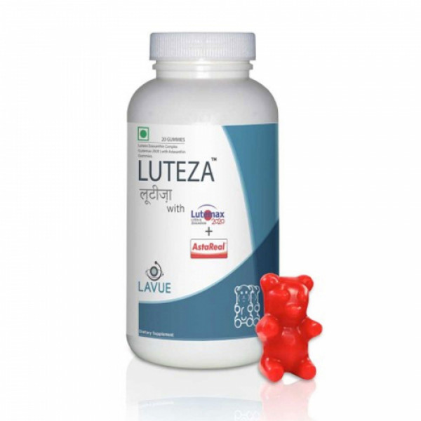 Luteza - Safety Shield for Eyes, 20 Gummies