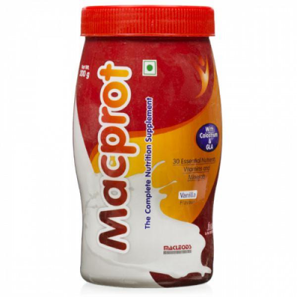 Macprot Vanilla Powder, 200gm