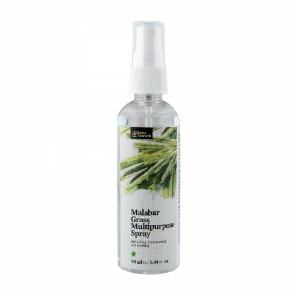 Bipha Ayurveda Malabar Lemongrass Multipurpose Spray, 90ml