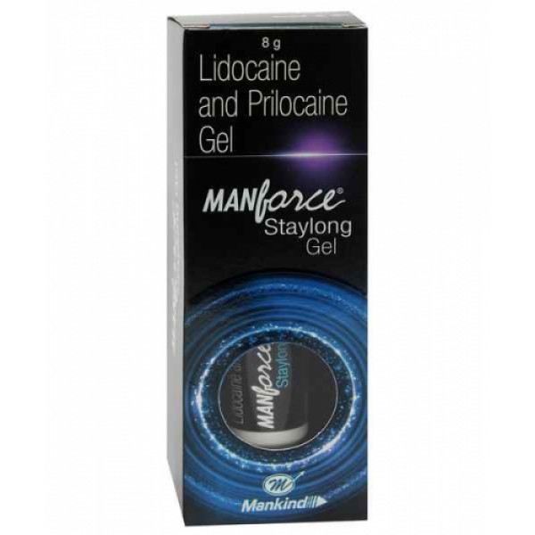 Manforce Stay Long Gel, 8gm