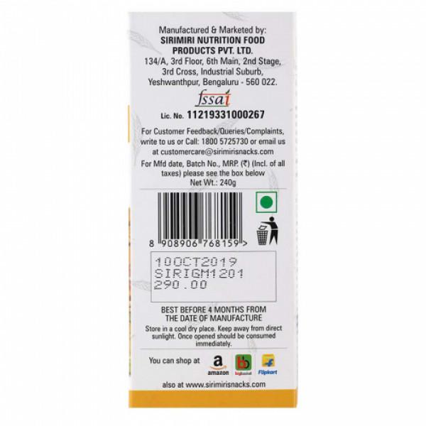 Sirimiri Ginger & Mangoes Nutrition Bar, 40gm (Pack Of 12)