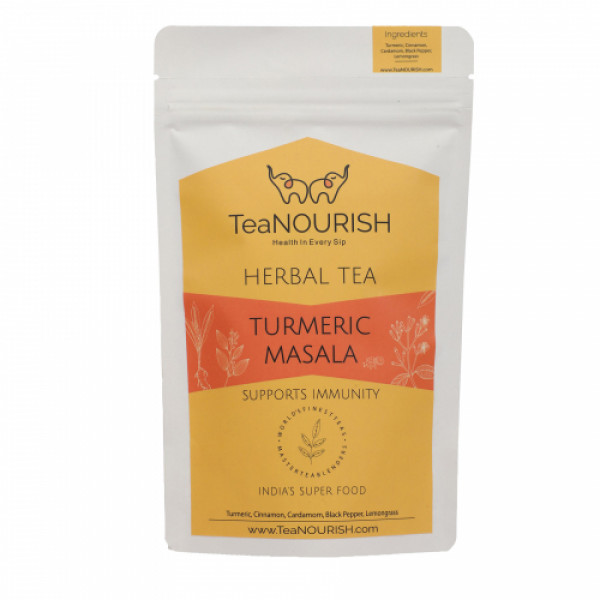 TeaNOURISH Turmeric Masala Herbal Tea, 100gm