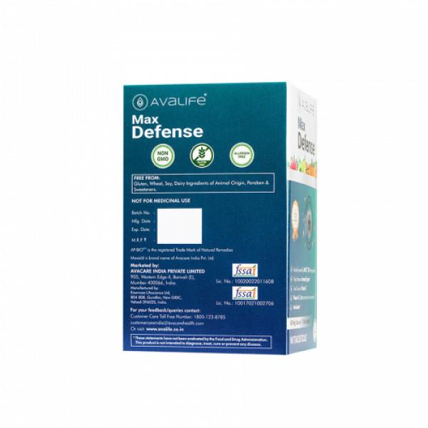 Avalife Max Defense, 60 Capsules