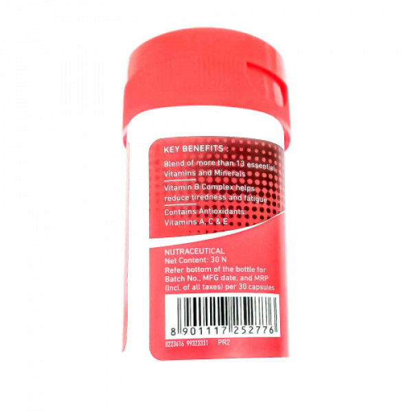 Maxirich Daily Multivitamin, 30 Capsules