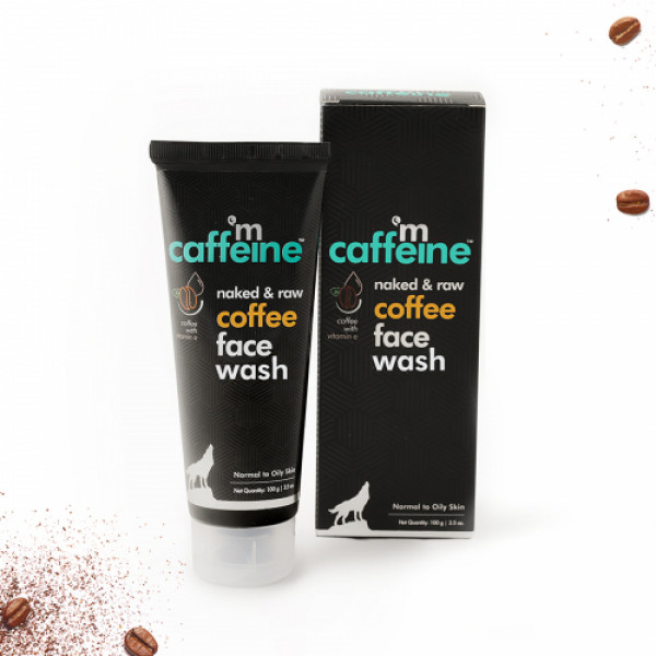 mcaffeine Naked And Raw Deep Cleansing Coffee Face Wash, 100ml