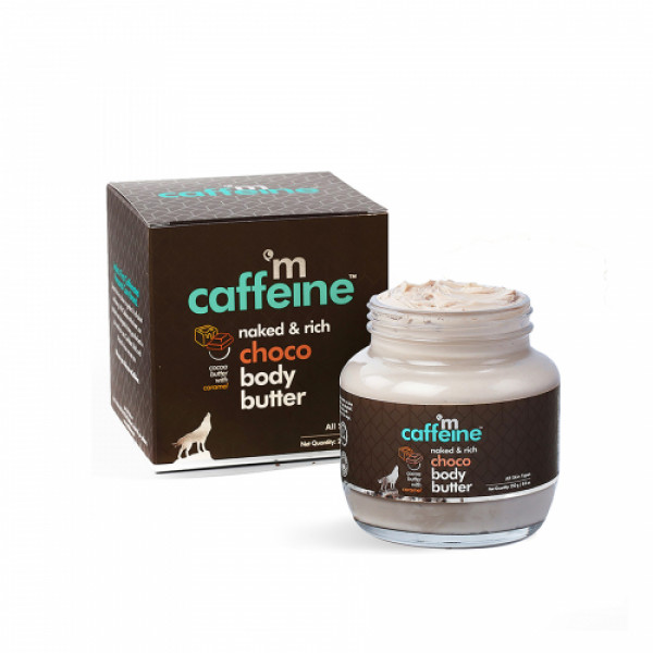 mcaffeine Naked And Rich Deep Moisturizing Choco Body Butter, 250gm