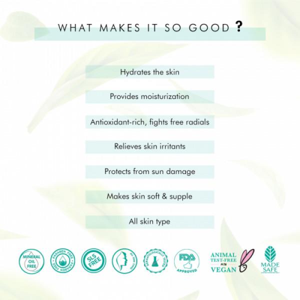 mCaffeine Naked Detox Hydrating Green Tea Face Serum, 40ml