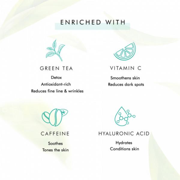 mCaffeine Naked Detox Hydrating Green Tea Night Gel, 50ml