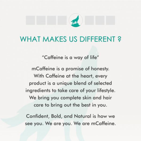 mCaffeine Naked Detox Hydrating Green Tea Body Gel Lotion, 200ml