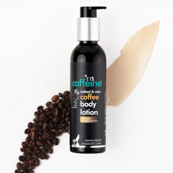mCaffeine Naked And Raw Moisturizing Coffee Body Lotion, 200ml