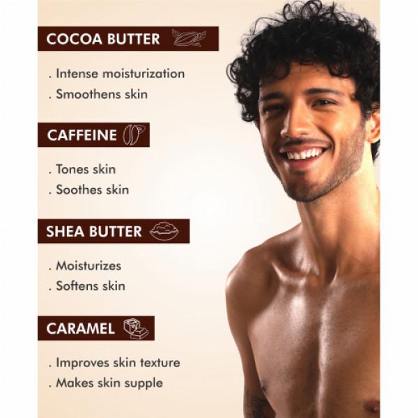 mCaffeine Naked And Rich Deep Moisturizing Choco Body Lotion, 200ml
