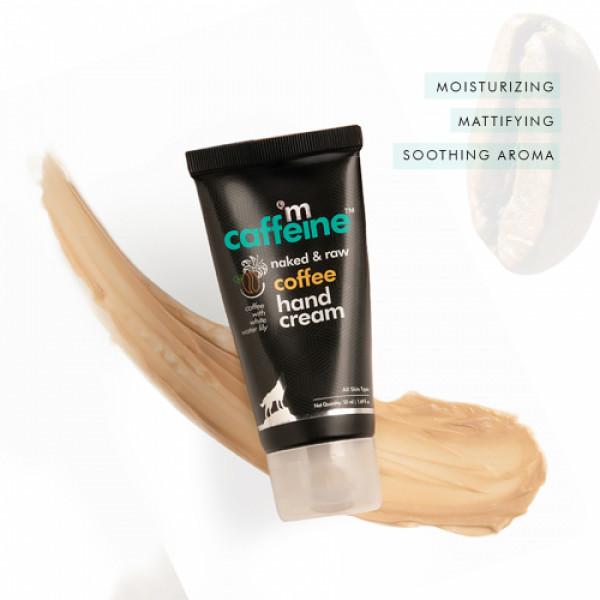 mCaffeine Naked And Raw Mattifying Coffee Hand Cream, 50ml