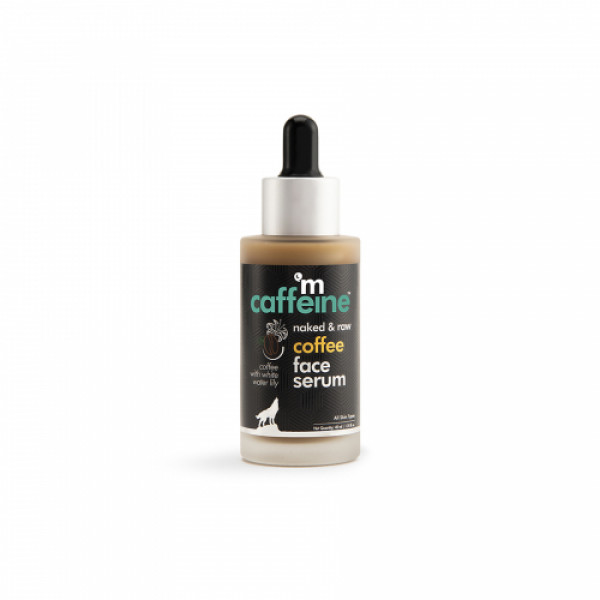 mCaffeine Naked And Raw Sun Protection Coffee Face Serum, 40ml