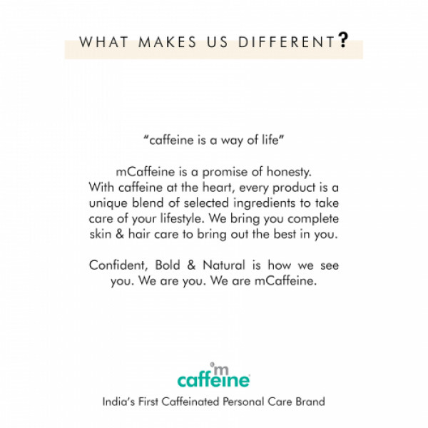 mCaffeine Naked & Raw Coffee Scalp & Hair Oil for Hair Growth with Redensyl & Argan Oil, 200ml