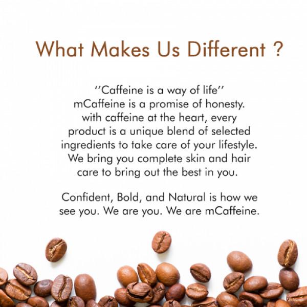 mCaffeine Naked And Raw Latte Coffee Face Moisturizer, 50ml