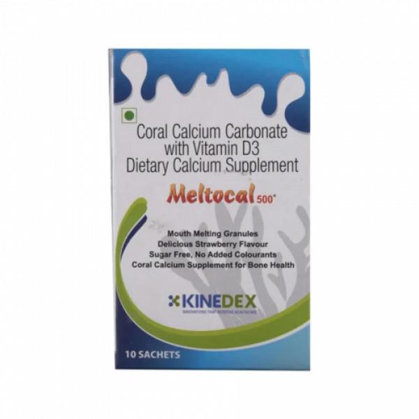 Meltocal 500mg Sachet, 10x3.5gm
