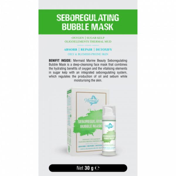 Mermaid Seboregulating Bubble Mask, 30gm