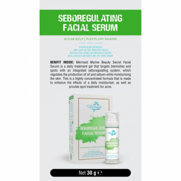 Mermaid Seboregulating Facial Serum, 30gm