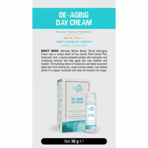Mermaid De-Aging Day Cream, 30gm